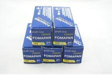 5 Rolls Film 120 Format Fomapan 100 B&w Black and White