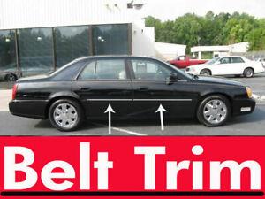 For Cadillac DEVILLE / DTS Chrome Body Side Molding Trim Kit 2000-2005