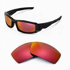 New WL Polarized Fire Red Replacement Lenses For Oakley Canteen(2013&before)