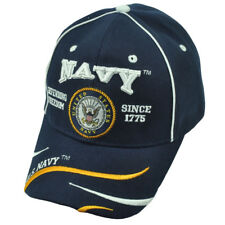 U.S Blu Navy Militare Stati Uniti Difesa Freedom 1775 Cappello Regolabile  Blu 504a94cbbbe8
