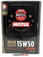 Aceite Motor Coches Clásicos 1950-70 Motul Classic Sae 15W50, 1 litros