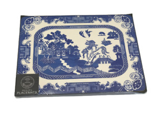Blue Willow Design set of 4 place mats new in box
