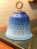 Jule After 1986 - Annual Christmas Bell BING & GRONDAHL Royal Copenhagen # 9286