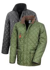 Result Urban Cheltenham Gold Quilted Fleece Lined Jacket