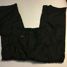 Nike Mens SB Budmo 6.0 Snowboarding Pants Mens Sz Medium Black Nylon Flaw