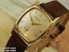 1957 Vintage HAMILTON Colby, Stunning Silver Dial, Serviced with warranty