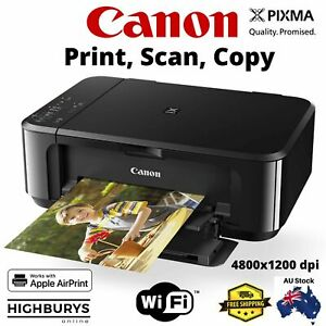 Canon Pixma Home MG3660 Inkjet Printer All In One Print A4 Photo Document Wi-Fi