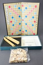 SCRABBLE Foreign Edition, Russian - Selchow & Righter - Vintage 1976 Complete