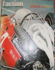 L'action automobile et touristique N° 84 1967 Spécial courses Coupé Fiat 124