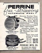 1954 Print Ad Perrine Automatic Fly Fishing Reels Minneapolis,MN