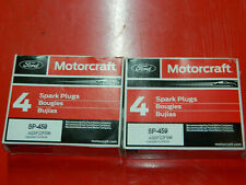 (8) GENUINE OEM MOTORCRAFT SP-459 PLATINUM SPARK PLUGS FOR F-150 F-250 F-350 LTD
