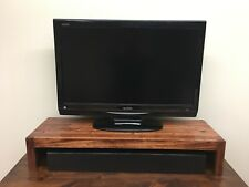 TV Riser/Laptop/Soundbar Modern Stand Solid Hardwood Made in the USA