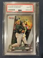 2019 Bowman's Best #66 RAMON LAUREANO RC Athletics Rookie PSA 10 Gem Mint *POP 1