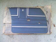 NOS MoPar 1971 Chrysler Newport New Yorker left front DOOR PANEL 4 door sedan