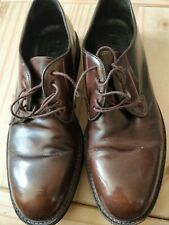 BARNEY'S NEW YORK Size 8.5 Brown Antique Leather Wingtip Lace Up Brogues Shoes
