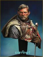 Unpainted Templar Order Soldier Figure Bust 1/10 Model Resin GK Unassembled