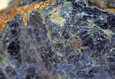 Namibian Sodalite lapidary rough 7.7 lbs blue salmon material 3449 grams