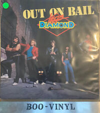 LEGS DIAMOND Out On Bail - Ex. Con 1985 Music For Nations Vinyl LP Ex Con