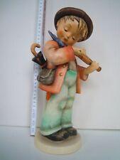 "32 cm hohe M.I. Hummel Porzellan Figur ""Geigerlein"" 2 /III Goebel LITTLE FIDDLER"
