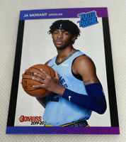 2019 20 Ja Morant #2 RC Panini Instant Donruss 1989 Retro Rated Rookie 1of 3431