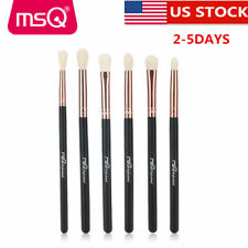 US Soft 6Pcs Eye Makeup Brush Set Eyebrow Blending Eyeshadow Brushes Kit Tools