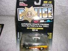 RACING CHAMPIONS POLICE U.S.A. 1970 PLYMOUTH  BARRACUDA #37