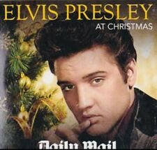 ELVIS PRESLEY AT CHRISTMAS CD - 12 GREAT HITS (Daily Mail) New