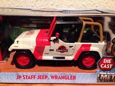 Jurassic Park Staff Jeep # 18 VARIANT Wrangler World Die Cast Metals Jada Toys