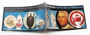 THE STORY OF WEDGWOOD, £1 BOOK OF STAMPS 1972,  42 STAMPS