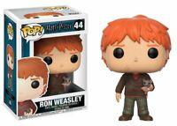 Funko Pop! Movies: Harry Potter - Ron Weasley w/ Scabbers Vinyl Figure