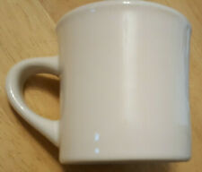 Vintage Buffalo China Restaurant coffee Cup white