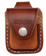 "Zippo Lighter ""Brown Leather Pouch"" w/Belt Loop, LPLB"