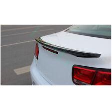 1pcs For Chevrolet Malibu 2011 2014 Car Black Abs Rear Trunk Door Spoiler Frame Fits 2012 Malibu