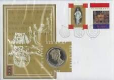 ECU brief 32 / Brief met Ecu penning: De gouden koets