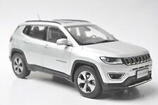 Jeep Compass  car model in scale 1:18 Silver