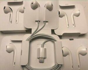 New Original Apple iPhone EarPods Lightning Headset Earbuds Earphones Headphones