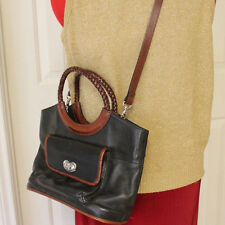 Fossil Purse Bag Crossbody Carryall Leather Removeable Strap