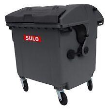 Lot de 3 Mini container type SULO 1100 L gris/vert/bleu pot à crayons vide poche