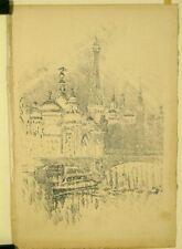 Lithographie de Pennell, Paris expo 1900, Tour Eiffel