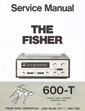Fisher 600-T Service Manual Reprint