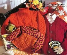 Classic Elite Yarns Knitting Pattern #677 Intertwined Lives: 3 for Adult & Child