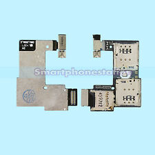 DUAL 2 SIM + SD SLOT READER TRAY FLEX CABLE FOR MOTOROLA MOTO G2 2ND GEN  XT1068