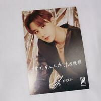 MONSTA X  Fantasia X official photo card  Tower Record Benefit Im Changkyun