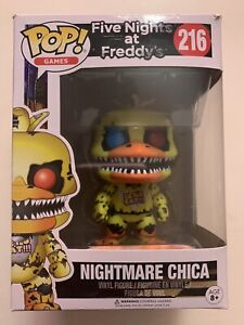 Nightmare Chica 216 Five Nights At Freddys Funko Pop Vinyl