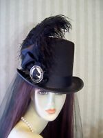Kentucky Derby Top Hat, Steampunk Hat, Civil War, Equestrian Top Hat, Victorian