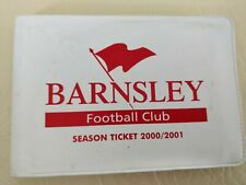 Barnsley FC season Ticket 2000/2001