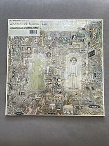 Weezer Ok Human LP Test Flesh Vinyl Limited To 2000 Sold Out
