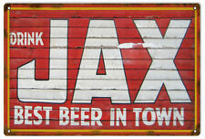 Jax Best Beer Bar And Restaurant Sign