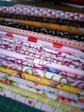 Random Novelty Remnants fabric bundle floral, Animals,  Patchwork  Facemasks New