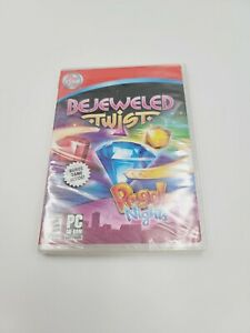 Bejeweled Twist ~ Peggle Nights (PC Game CD-ROM, 2008) Brand New and Sealed